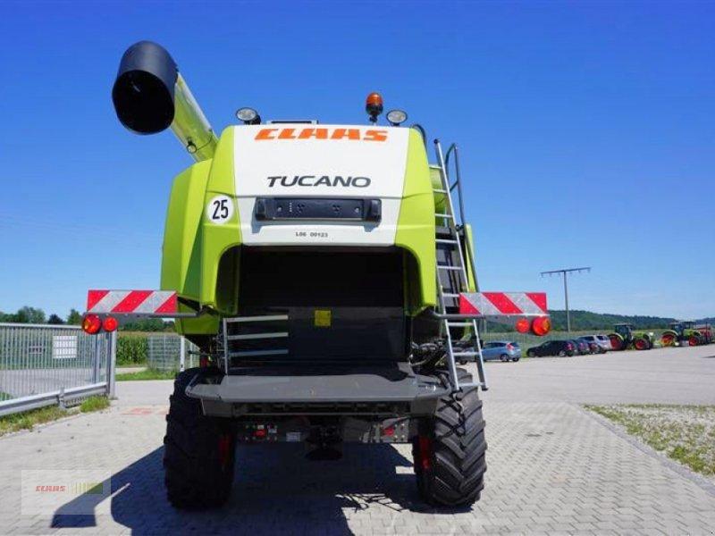 Mähdrescher des Typs CLAAS TUCANO 560 BUSINESS, Neumaschine in Töging am Inn (Bild 3)