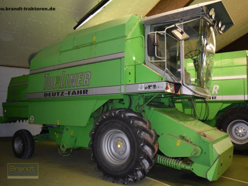 Mähdrescher des Typs Deutz-Fahr 4060 TopL., Gebrauchtmaschine in Bremen (Bild 1)
