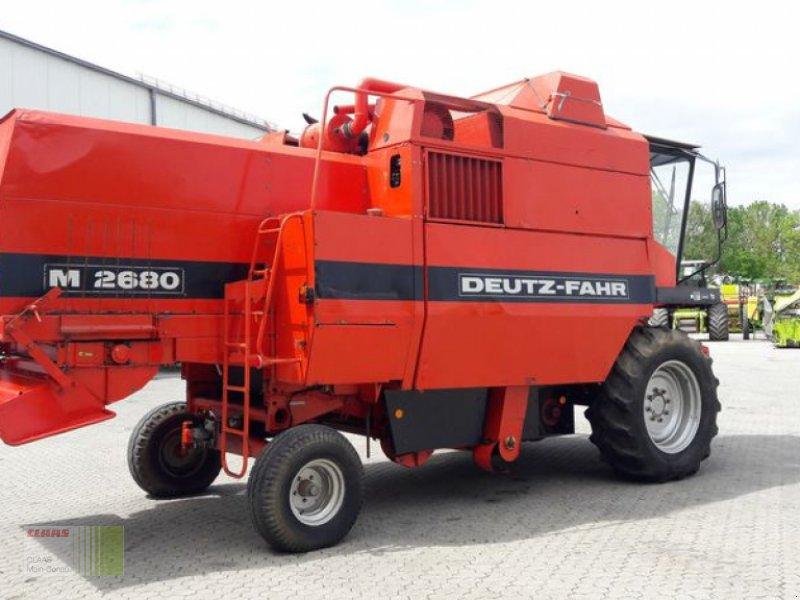 Mähdrescher des Typs Deutz-Fahr M 2680, Gebrauchtmaschine in Vohburg (Bild 1)