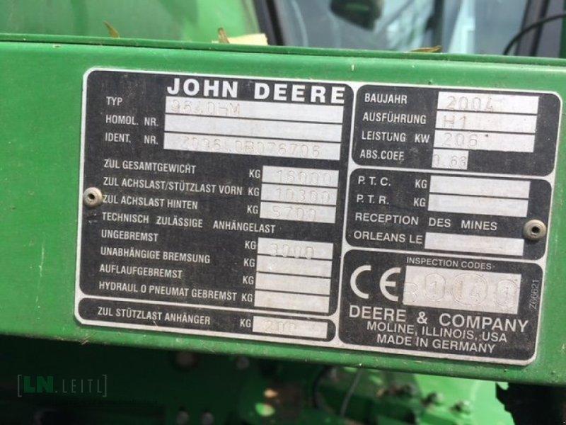 Mähdrescher des Typs John Deere 9640 WTS HM, Gebrauchtmaschine in Eggenfelden (Bild 13)