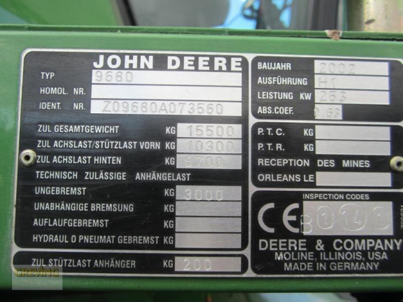 Mähdrescher des Typs John Deere 9680 WTS, Gebrauchtmaschine in Ahaus (Bild 23)
