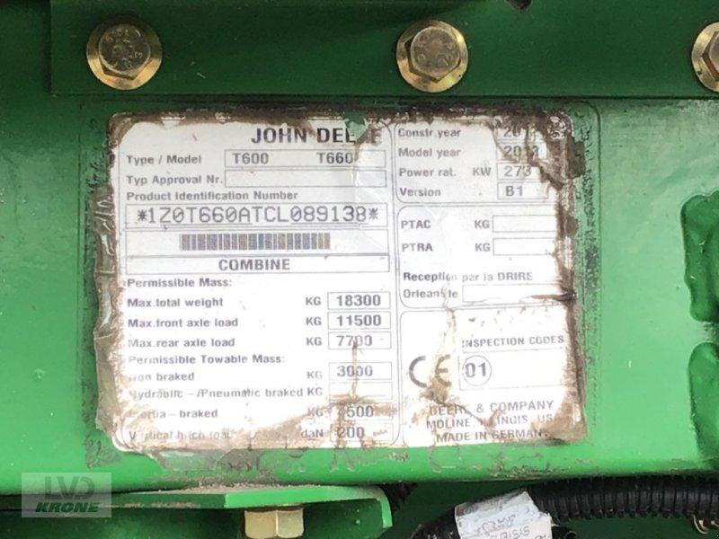 Mähdrescher des Typs John Deere T660i, Gebrauchtmaschine in Zorbau (Bild 9)
