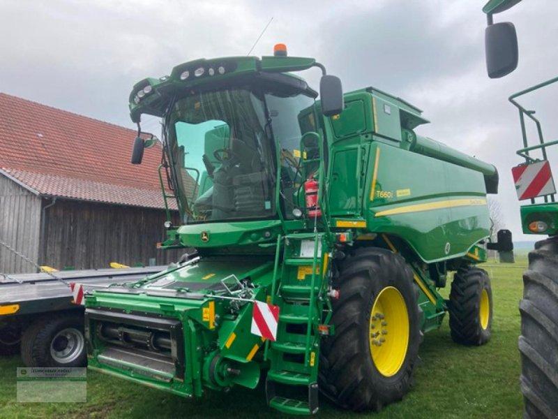 Mähdrescher типа John Deere T660i, Gebrauchtmaschine в Kanzach (Фотография 1)