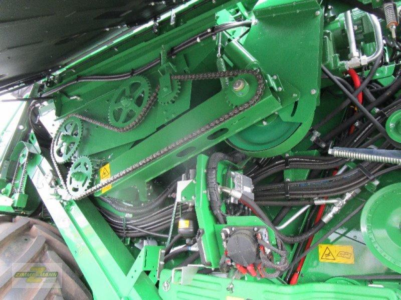 Mähdrescher des Typs John Deere T670i Hillmaster, Vorführmaschine in Euskirchen (Bild 11)