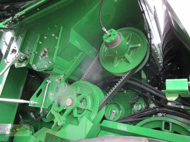 Mähdrescher des Typs John Deere T670i Hillmaster, Vorführmaschine in Euskirchen (Bild 8)
