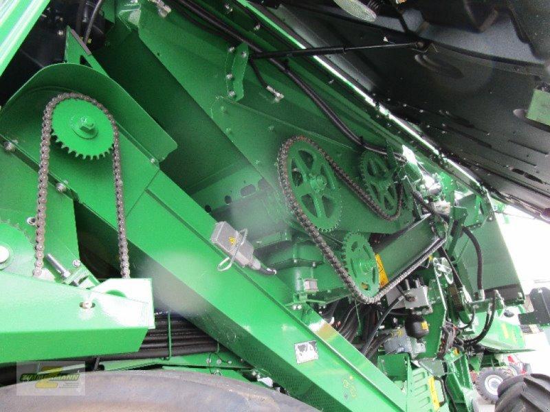 Mähdrescher des Typs John Deere T670i Hillmaster, Vorführmaschine in Euskirchen (Bild 12)