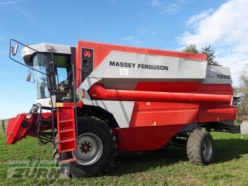 Mähdrescher des Typs Massey Ferguson 7256 AL f.teilw.Rep., Gebrauchtmaschine in Schoental-Westernhausen (Bild 1)