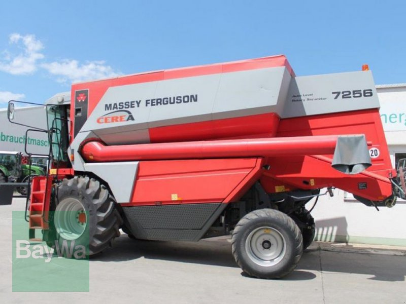 Mähdrescher des Typs Massey Ferguson 7256 CEREA AL, Gebrauchtmaschine in Straubing (Bild 5)