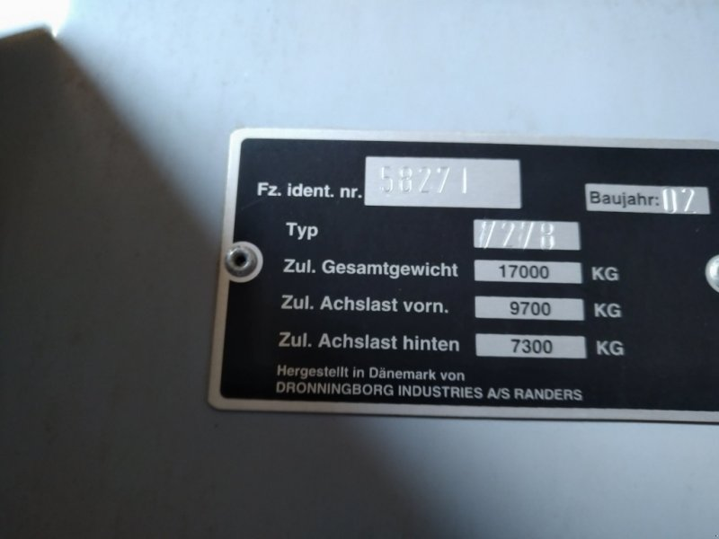 Mähdrescher des Typs Massey Ferguson 7278 Cerea, Gebrauchtmaschine in Brandenburg - Lieben (Bild 12)
