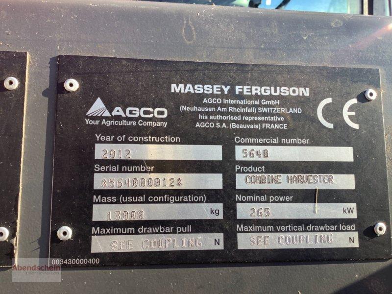Mähdrescher des Typs Massey Ferguson 7370 Beta, Gebrauchtmaschine in Blaufelden (Bild 13)