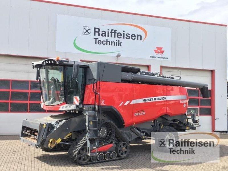 Mähdrescher des Typs Massey Ferguson 9380 Delta, Vorführmaschine in Ebeleben (Bild 1)
