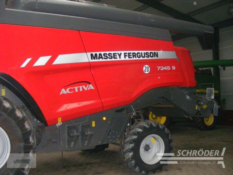 Mähdrescher des Typs Massey Ferguson Activa 7345 S MCS, Gebrauchtmaschine in Lastrup (Bild 2)