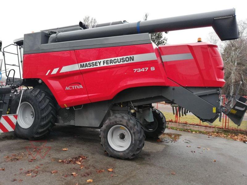 Mähdrescher des Typs Massey Ferguson Activa 7347 S (MCS), Gebrauchtmaschine in Schwechat (Bild 2)
