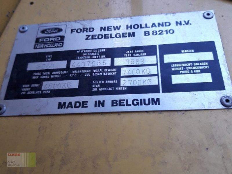 Mähdrescher des Typs New Holland 8050, Gebrauchtmaschine in Vohburg (Bild 14)