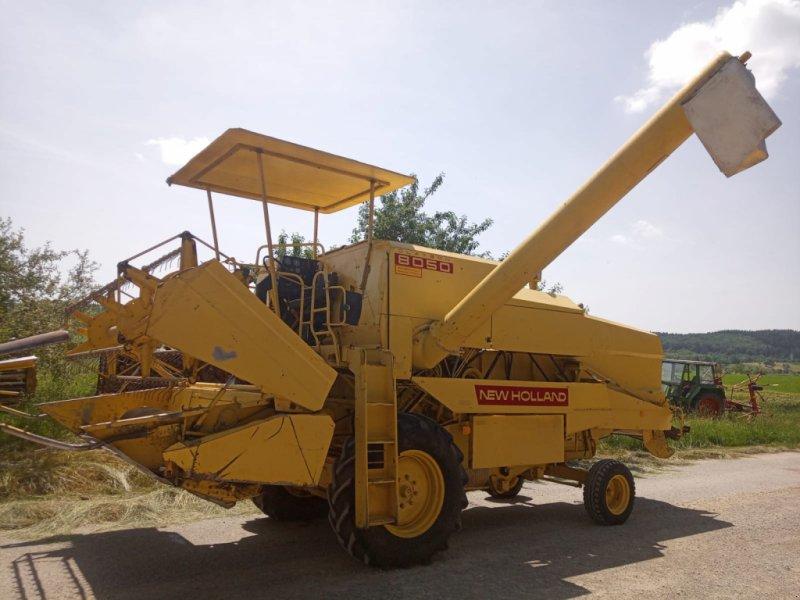 Mähdrescher des Typs New Holland 8050, Gebrauchtmaschine in Illesheim (Bild 1)