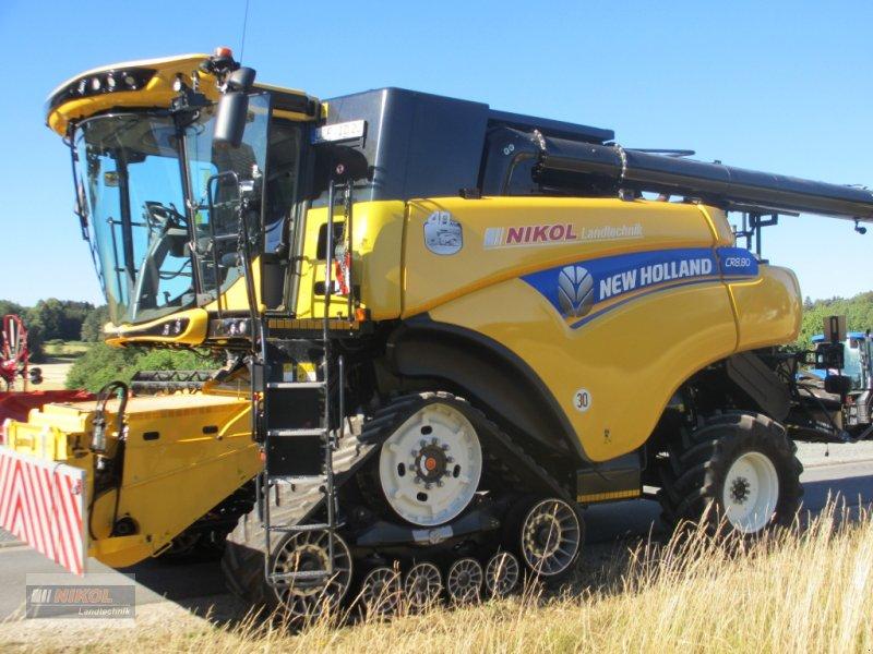 Mähdrescher des Typs New Holland CR 8.80 Allrad & Raupe gefedert - kein Maiseinsatz, Gebrauchtmaschine in Lichtenfels (Bild 4)