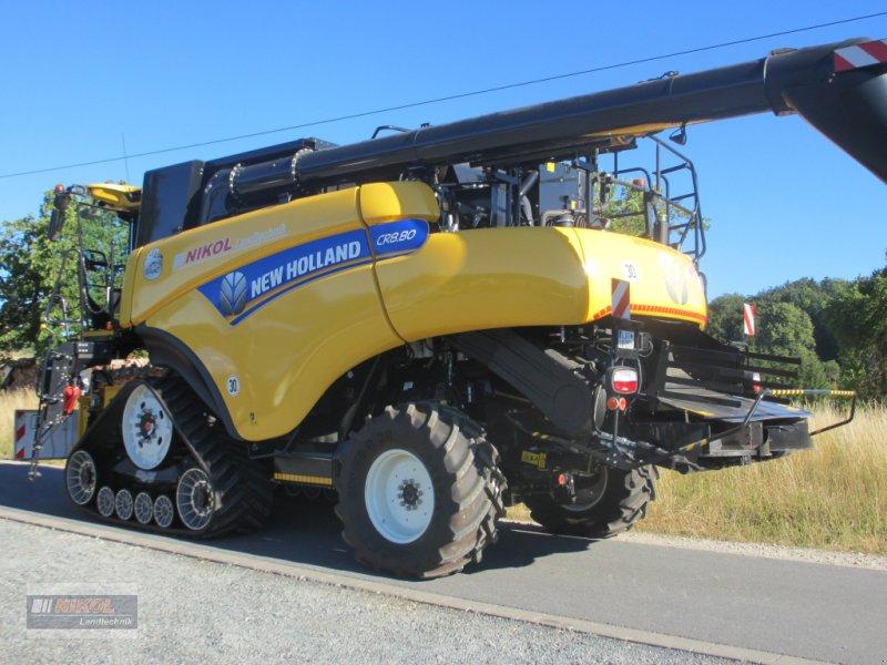 Mähdrescher des Typs New Holland CR 8.80 Allrad & Raupe gefedert - kein Maiseinsatz, Gebrauchtmaschine in Lichtenfels (Bild 7)