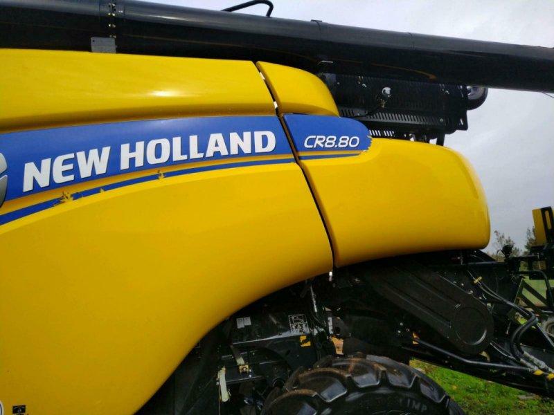 Mähdrescher des Typs New Holland CR 8.80, Gebrauchtmaschine in Pommerby (Bild 4)