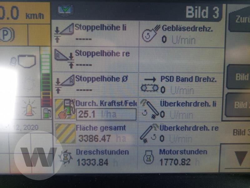Mähdrescher des Typs New Holland CR 9070 ELEV, Gebrauchtmaschine in Husum (Bild 4)
