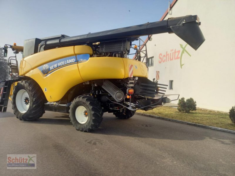Mähdrescher типа New Holland CR 9080, Elevation, EE2014, Vario 9,15m, Top, Gebrauchtmaschine в Schierling (Фотография 1)