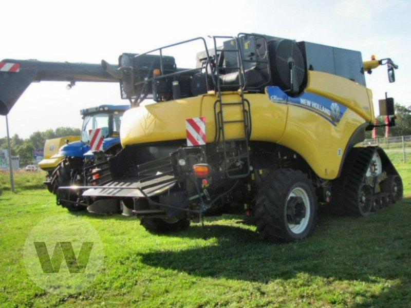 Mähdrescher des Typs New Holland CR 9090 Elevation SCR Raupe Al, Gebrauchtmaschine in Dedelow (Bild 6)