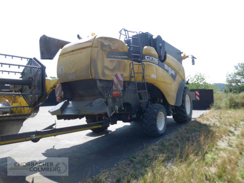 Mähdrescher типа New Holland CX 780, Gebrauchtmaschine в Colmberg (Фотография 7)