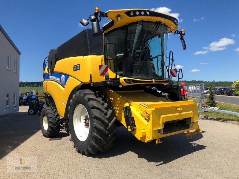 Mähdrescher des Typs New Holland CX 7.90 Demo 2019, Gebrauchtmaschine in Neuhof - Dorfborn (Bild 2)