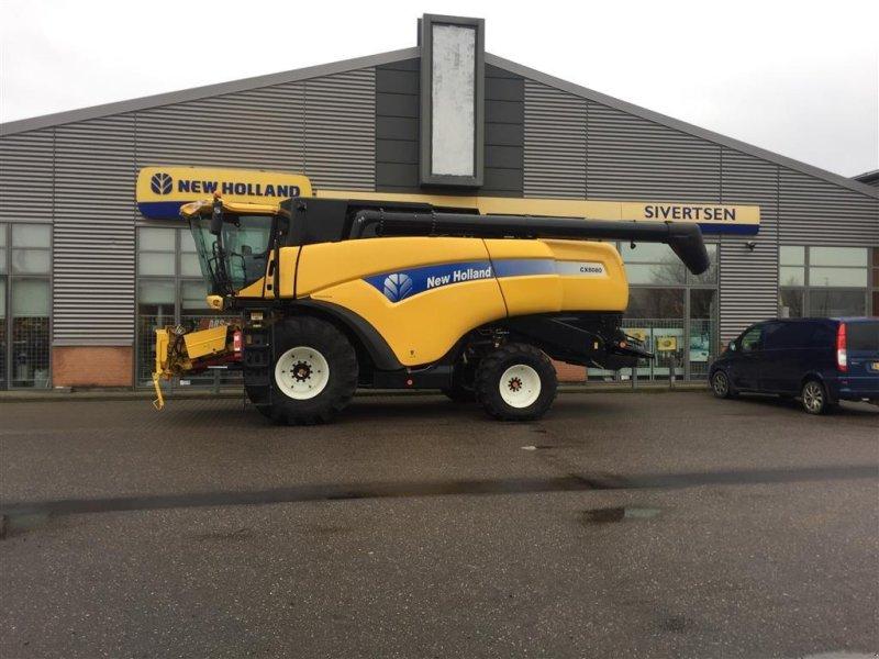 """Mähdrescher des Typs New Holland CX 8080 SLH 30"""" Varifeed, Gebrauchtmaschine in Roskilde (Bild 1)"""