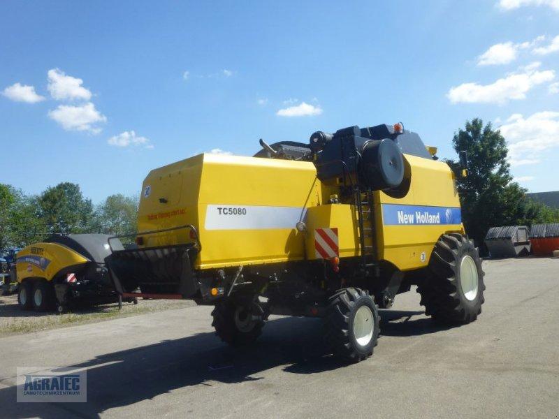 Mähdrescher des Typs New Holland TC 5080, Gebrauchtmaschine in Salching bei Straubing (Bild 7)