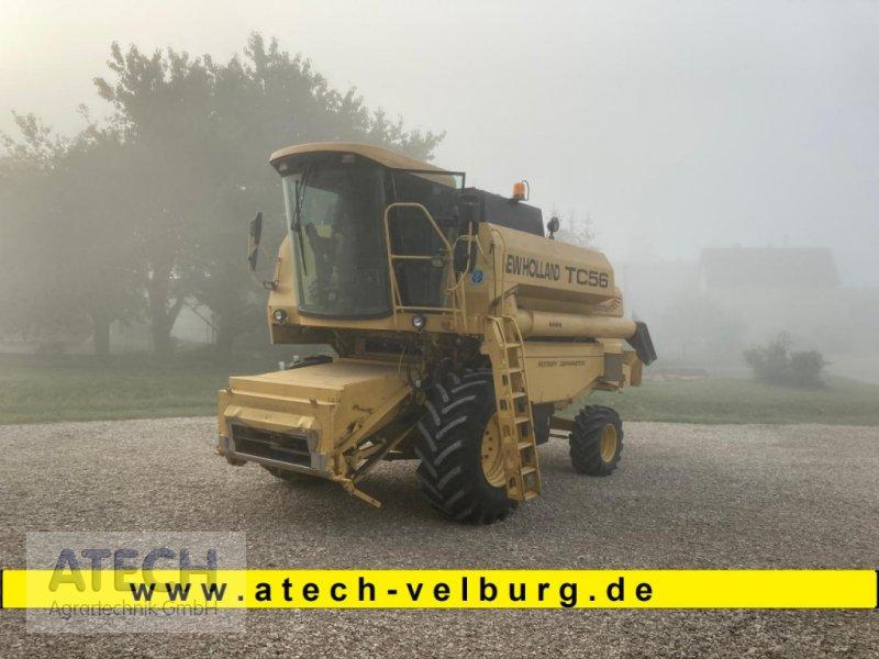 Mähdrescher des Typs New Holland TC 56, Gebrauchtmaschine in Velburg (Bild 1)