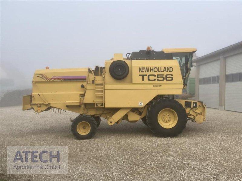 Mähdrescher des Typs New Holland TC 56, Gebrauchtmaschine in Velburg (Bild 2)