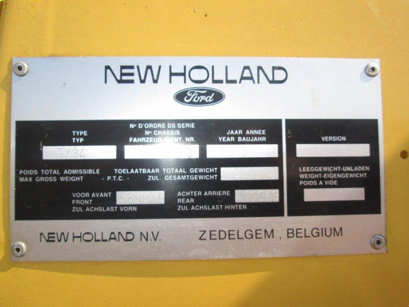 Mähdrescher του τύπου New Holland TX 34, Gebrauchtmaschine σε Wülfershausen (Φωτογραφία 7)