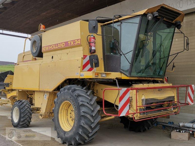 Mähdrescher des Typs New Holland TX 34, Gebrauchtmaschine in Wellheim (Bild 1)
