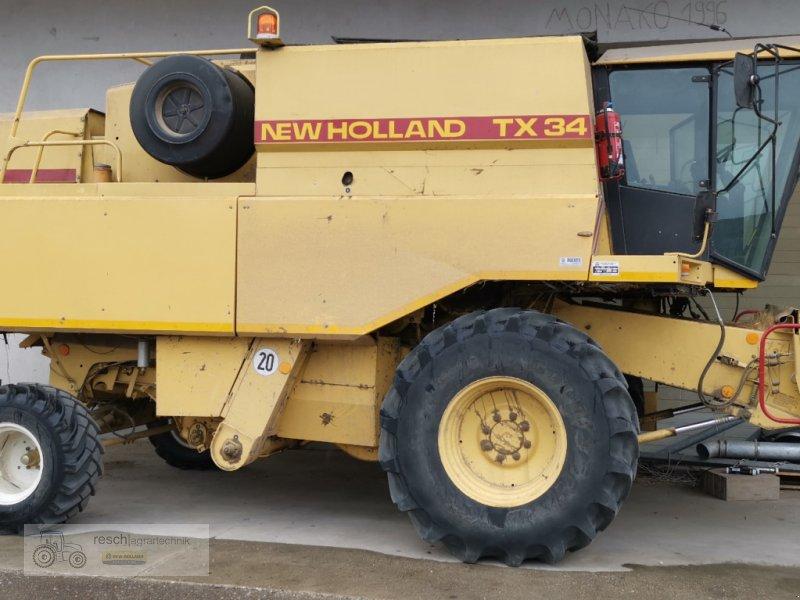 Mähdrescher des Typs New Holland TX 34, Gebrauchtmaschine in Wellheim (Bild 2)