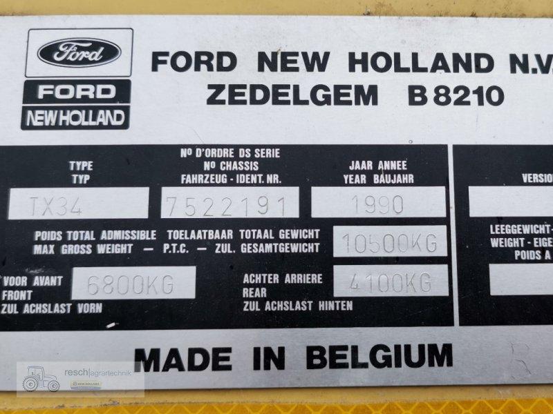 Mähdrescher des Typs New Holland TX 34, Gebrauchtmaschine in Wellheim (Bild 4)