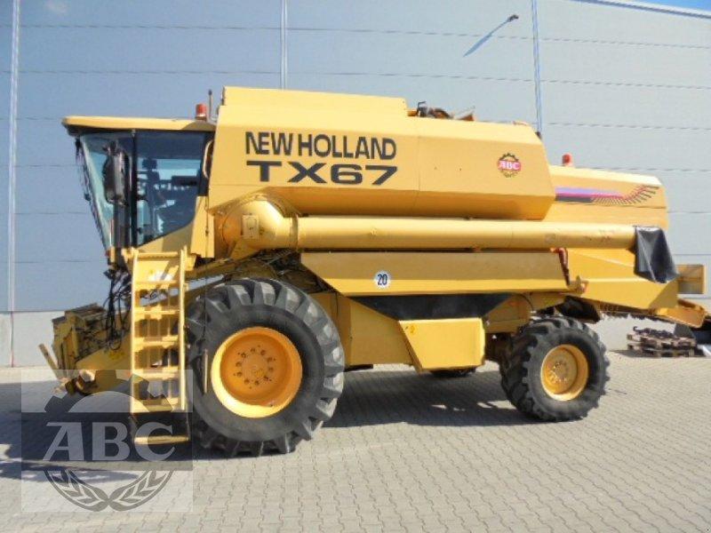 Mähdrescher des Typs New Holland TX 67, Gebrauchtmaschine in Cloppenburg (Bild 1)