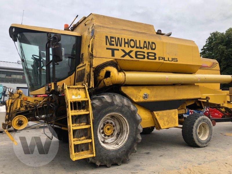 Mähdrescher des Typs New Holland TX 68 PLUS, Gebrauchtmaschine in Husum (Bild 1)
