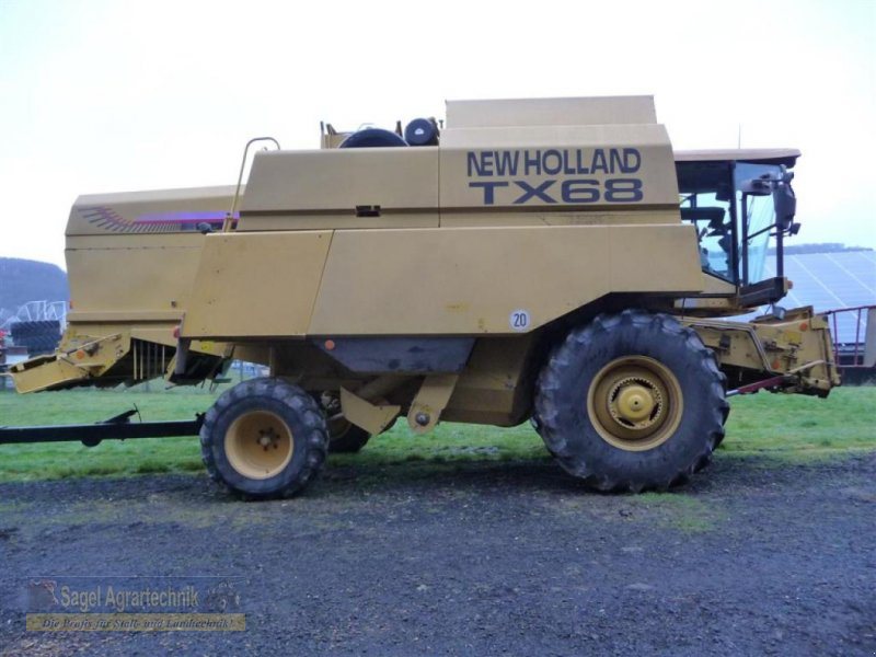 Mähdrescher des Typs New Holland TX68, Gebrauchtmaschine in Rhaunen (Bild 1)