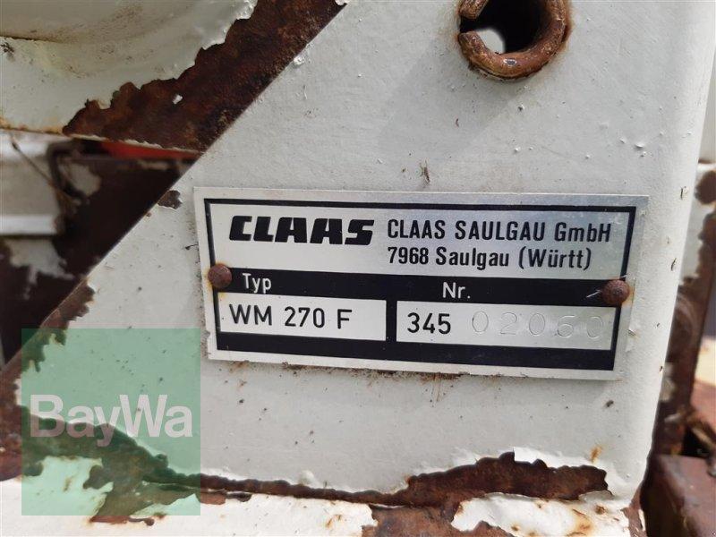 Mähwerk des Typs CLAAS Corto 270 FN, Gebrauchtmaschine in Ehingen (Bild 3)