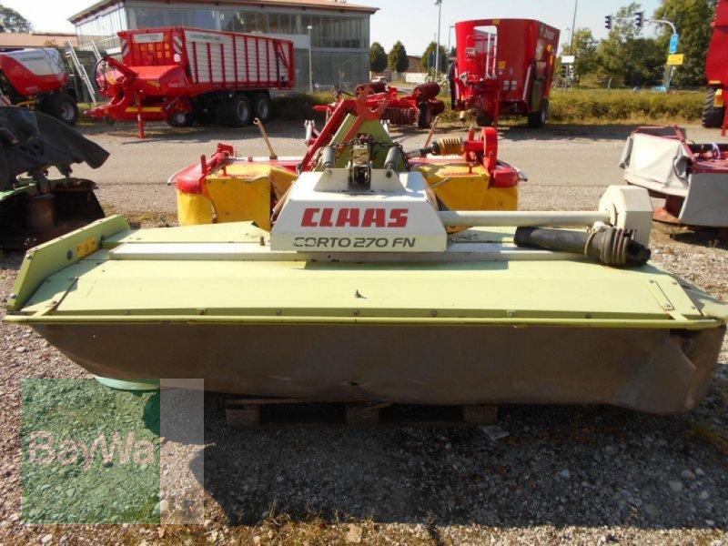 Mähwerk des Typs CLAAS CORTO 270 FN, Gebrauchtmaschine in Mindelheim (Bild 1)