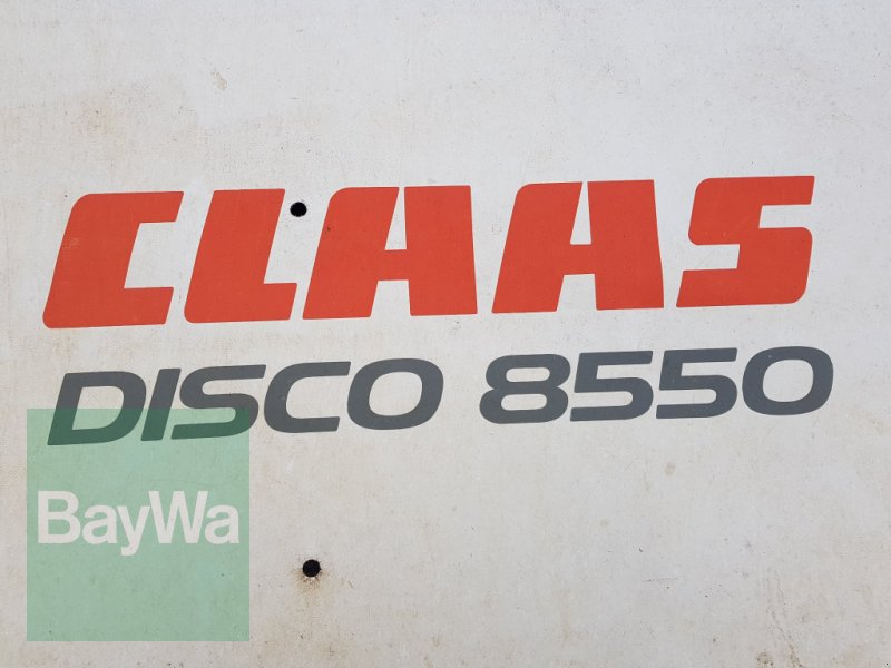 Mähwerk του τύπου CLAAS Disco 8550 Plus GT 50 N, Gebrauchtmaschine σε Bamberg (Φωτογραφία 5)