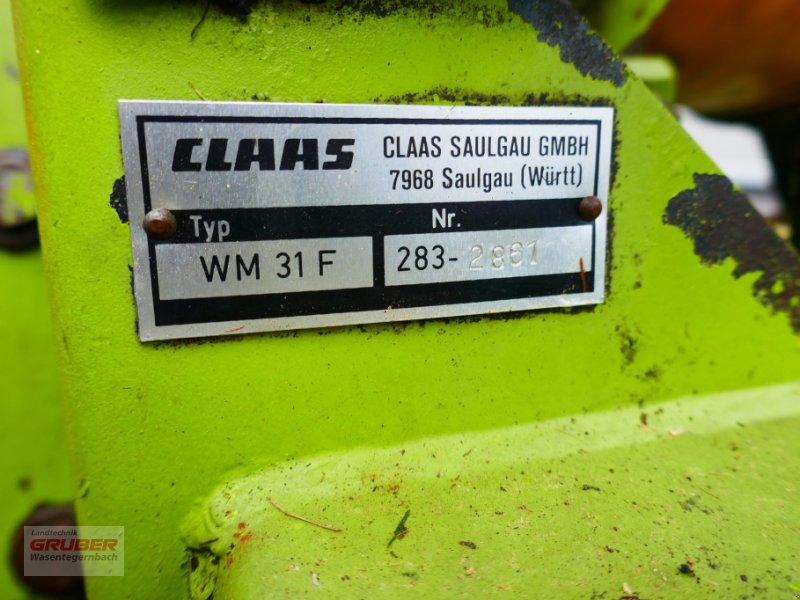 Mähwerk typu CLAAS WM 31F - technisch überholt!, Gebrauchtmaschine v Dorfen (Obrázok 7)