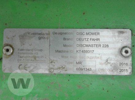 Mähwerk des Typs Deutz-Fahr DISCMASTER 228, Gebrauchtmaschine in Husum (Bild 7)