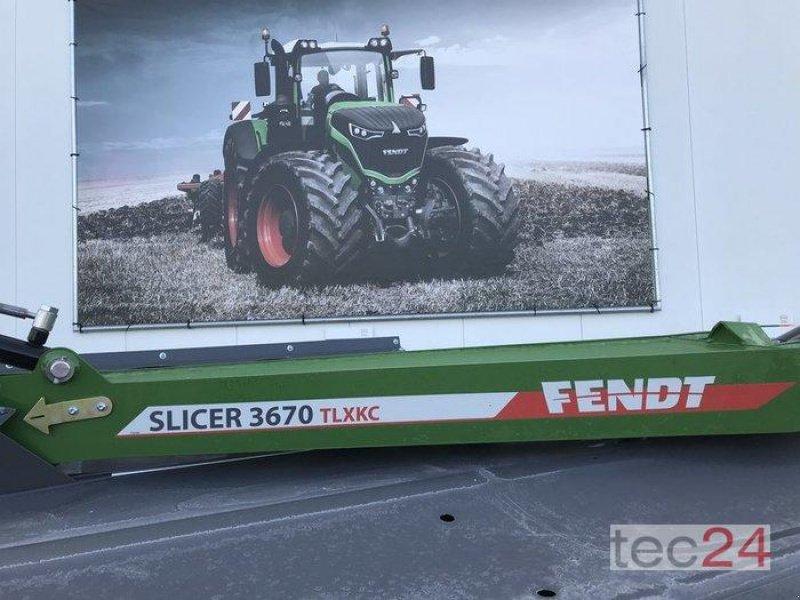 Mähwerk типа Fendt Slicer 3670 TLXKC, Ausstellungsmaschine в Diez (Фотография 1)