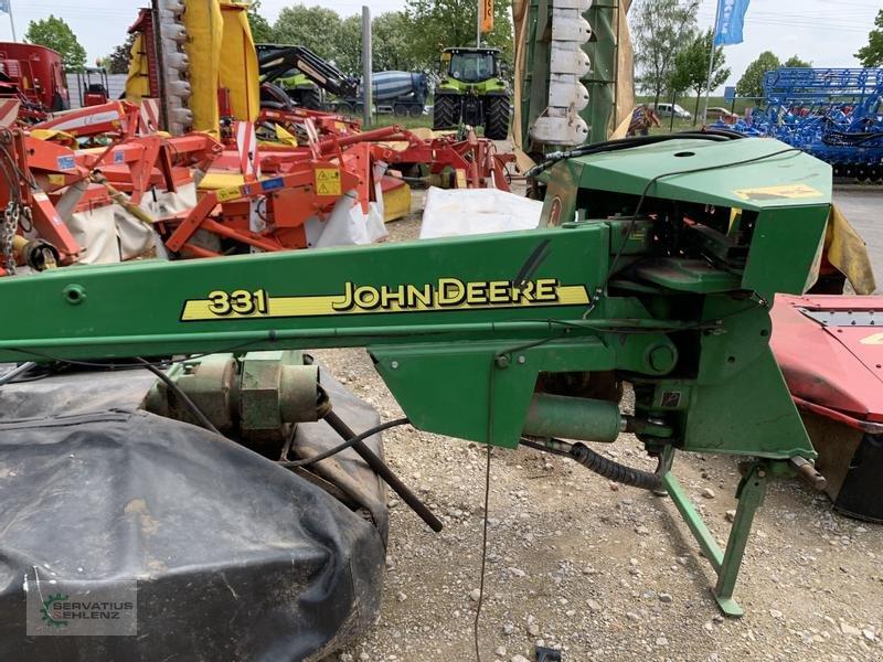 Mähwerk типа John Deere 331 Scheibenmähwerk mit Aufbereiter, Gebrauchtmaschine в Rittersdorf (Фотография 10)