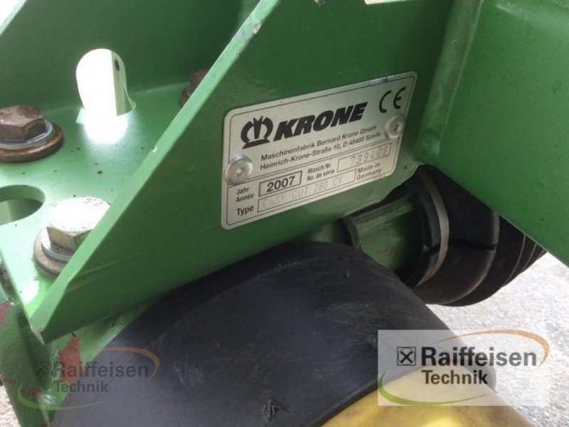 Mähwerk a típus Krone Easy Cut 280 CV, Gebrauchtmaschine ekkor: Bad Hersfeld (Kép 8)