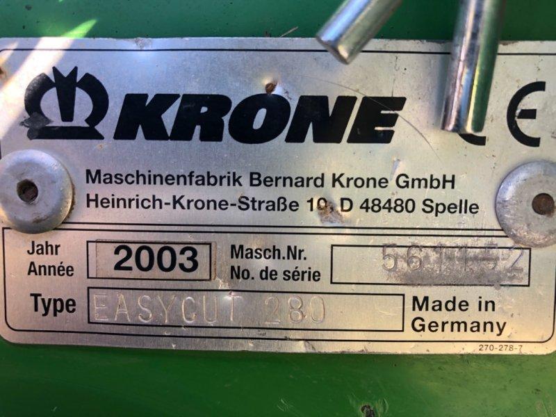 Mähwerk a típus Krone Easy Cut 280, Gebrauchtmaschine ekkor: SAINT CLAIR SUR ELLE (Kép 6)
