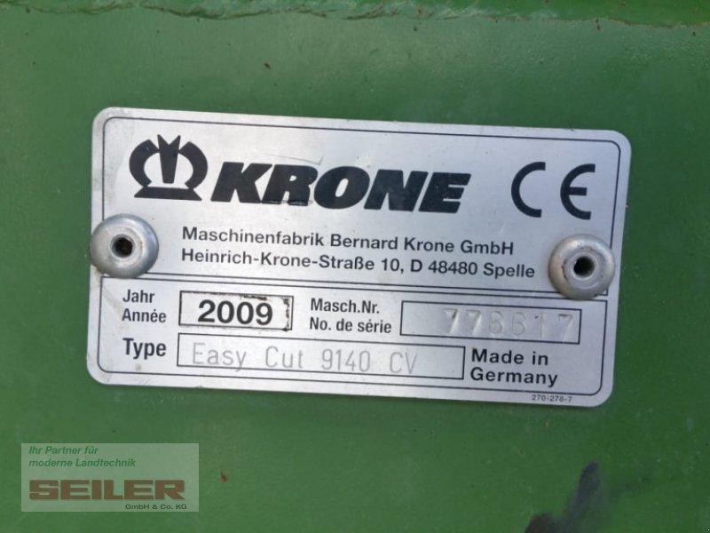 Mähwerk типа Krone Easy Cut 9140 CV Collect, Gebrauchtmaschine в Ansbach (Фотография 14)