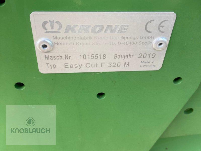 Mähwerk типа Krone Easy Cut F 320 M, Gebrauchtmaschine в Stockach (Фотография 5)