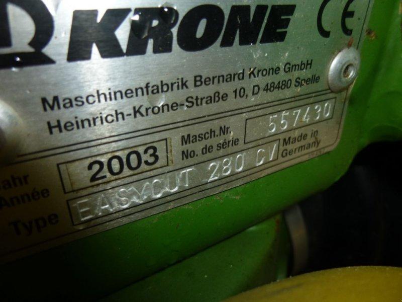 Mähwerk типа Krone EasyCUT 280 CV mit Aufbereiter, Gebrauchtmaschine в Ebensee (Фотография 11)